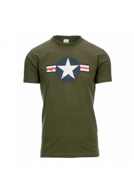 CAMISETA AIR FORCE VERDE