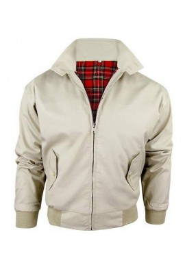 CHAQUETA HARRINGTON BEIGE