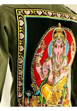 Buddha Army Jacket ( Ganesha )