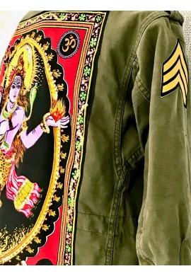 Buddha Army Parka ( Nataraja )
