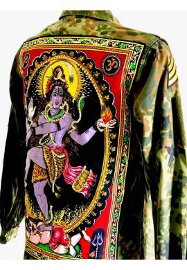 Buddha Camo Jacket ( Shiva Dance )