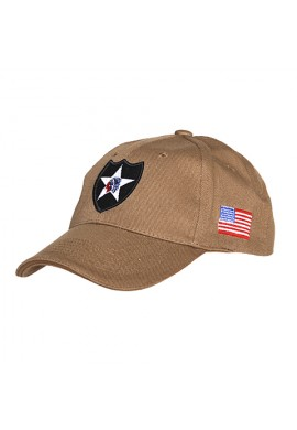 GORRA 2ND INFANTRY DIVISION CREMA